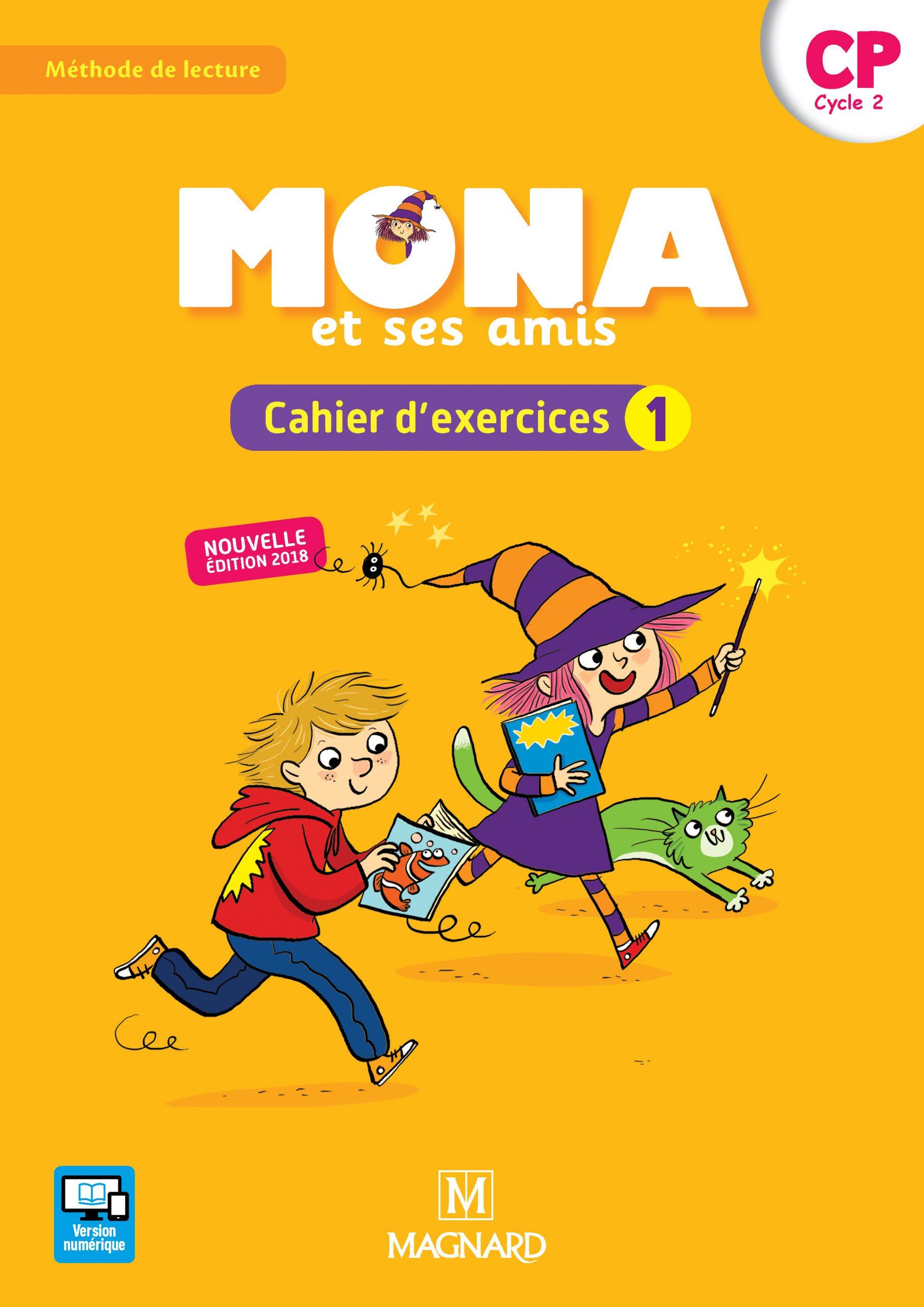 Mona Et Ses Amis Cp (2018) - Cahier D'exercices 1 | Magnard à Cahier D Exercice Cp
