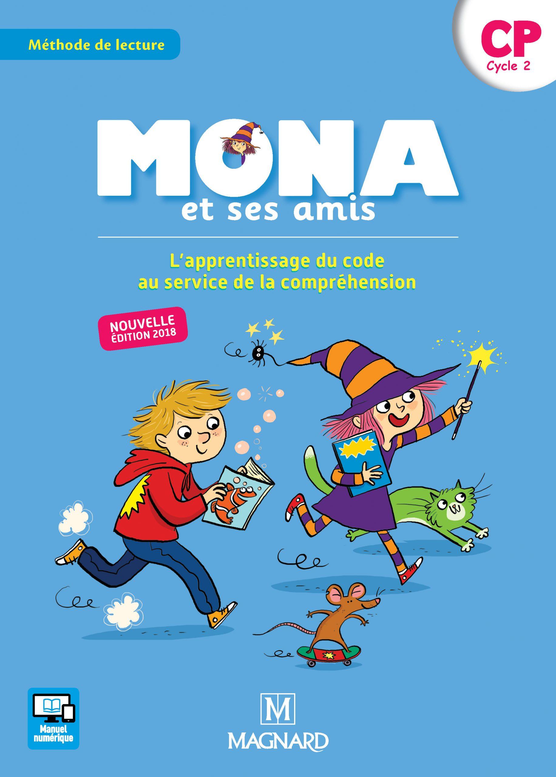 Mona Et Ses Amis Cp (2018) - Manuel De L'élève | Magnard à Activité Manuelle Pour Cp