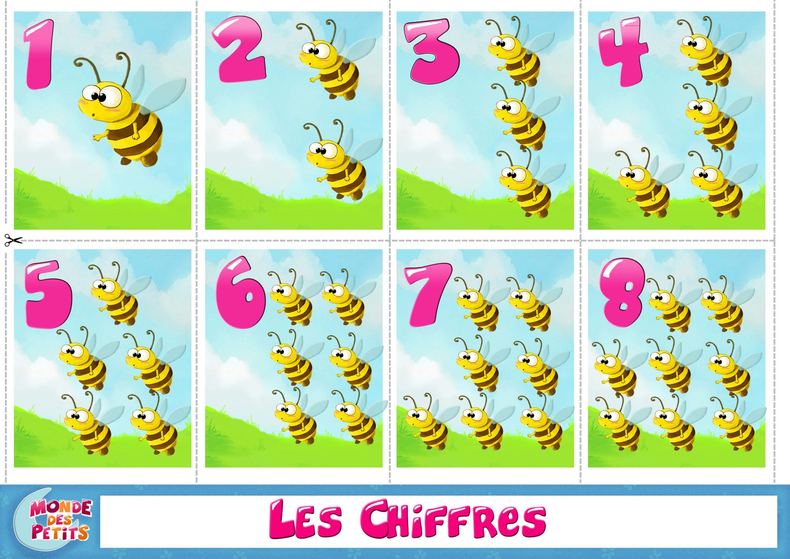 Monde Des Petits - Apprendre En Vidéo concernant Jeux Pour Apprendre Les Chiffres En Francais