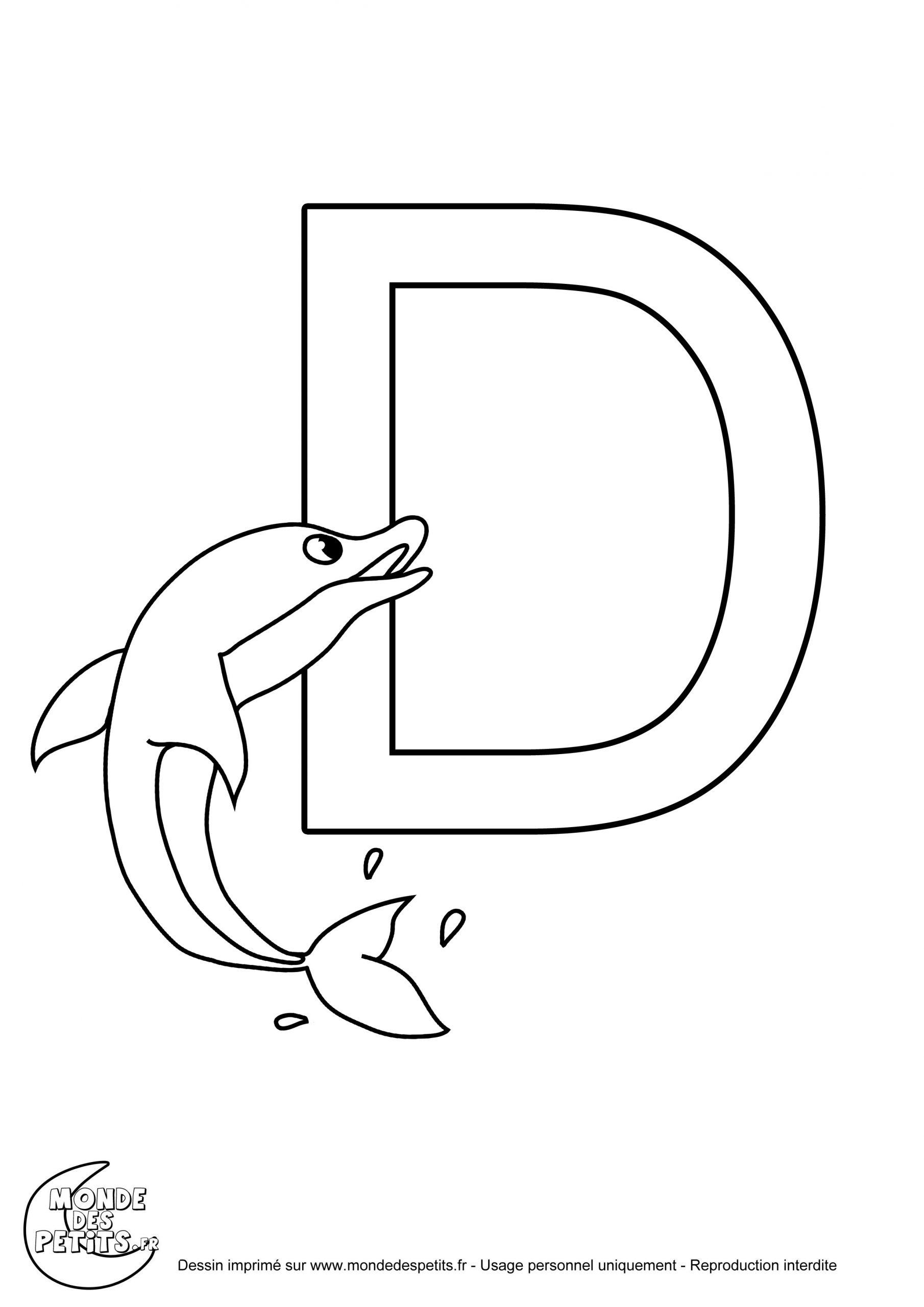 Monde Des Petits - Coloriages À Imprimer à Coloriage D Alphabet