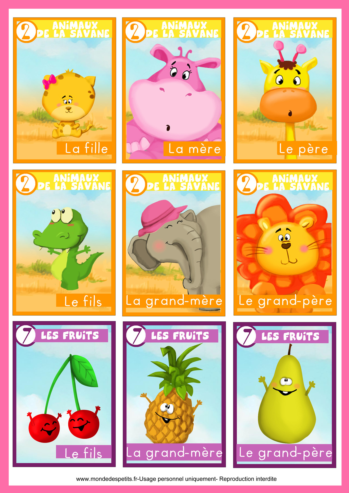 Monde Des Petits - Jeux De Société à Jeux Enfant Animaux
