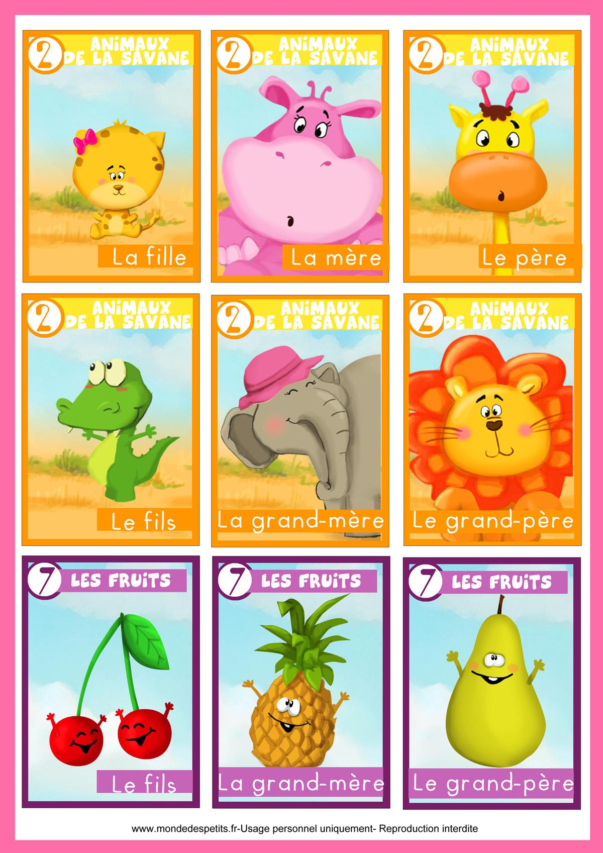 Monde Des Petits - Jeux De Société tout Jeux Animaux Enfant