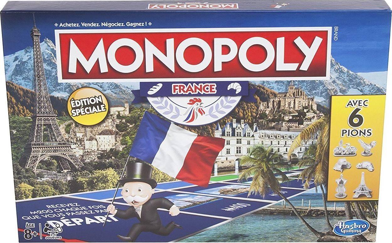 Monopoly France - Jeu Monopoly Des Régions & Villes pour Les Régions De France Jeux