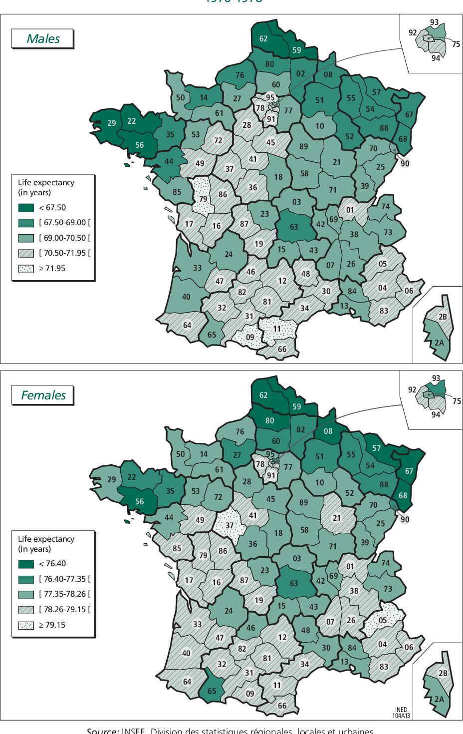 Mortality In France By Département | Semantic Scholar intérieur Departement 12 En France