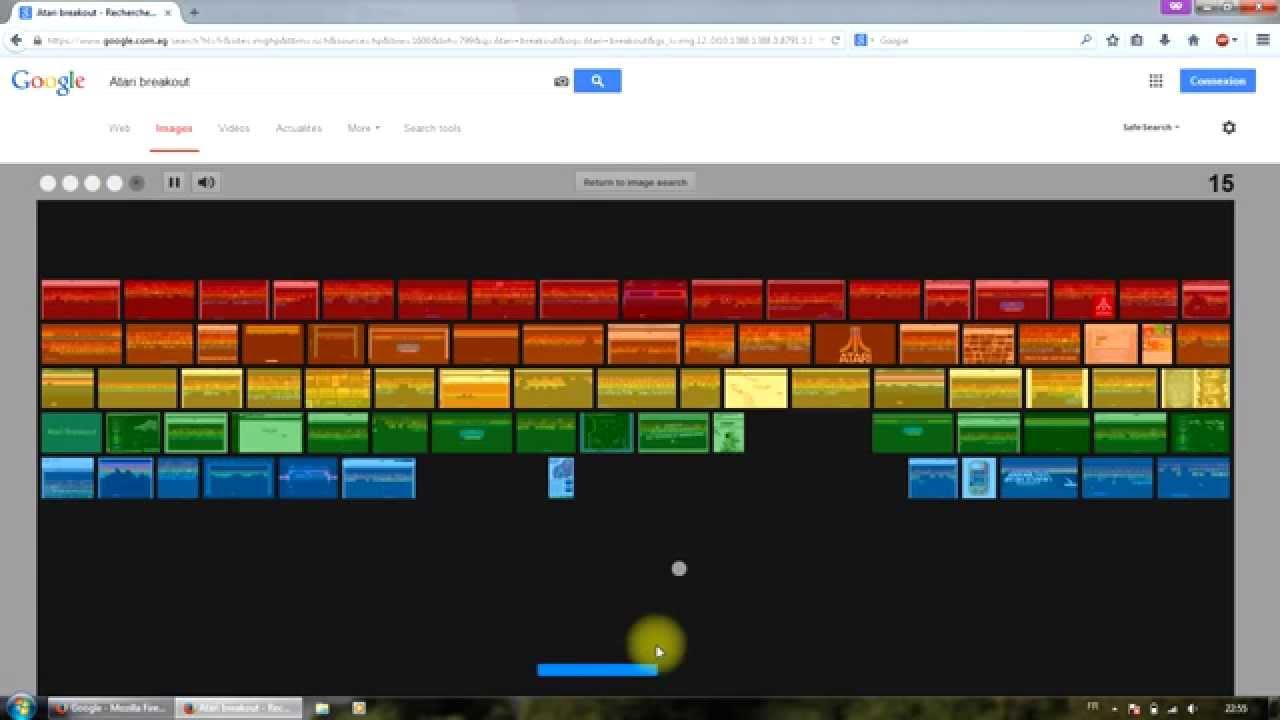 [Mot Secret] Jouer Au Casse-Briques Sur Google à Jouer Au Casse Brique