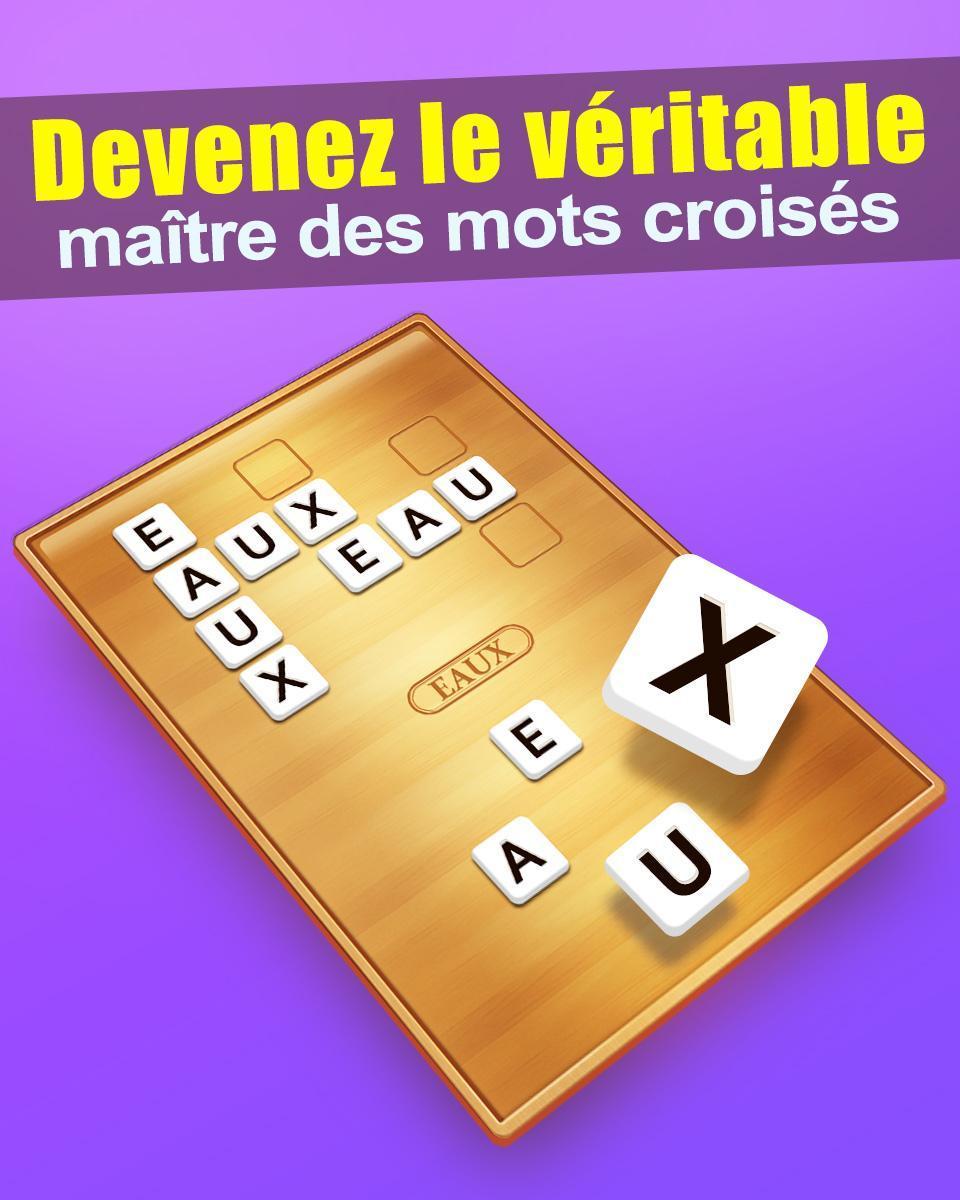 Mots Croisés For Android - Apk Download destiné Jeux Mots Croisés Facile