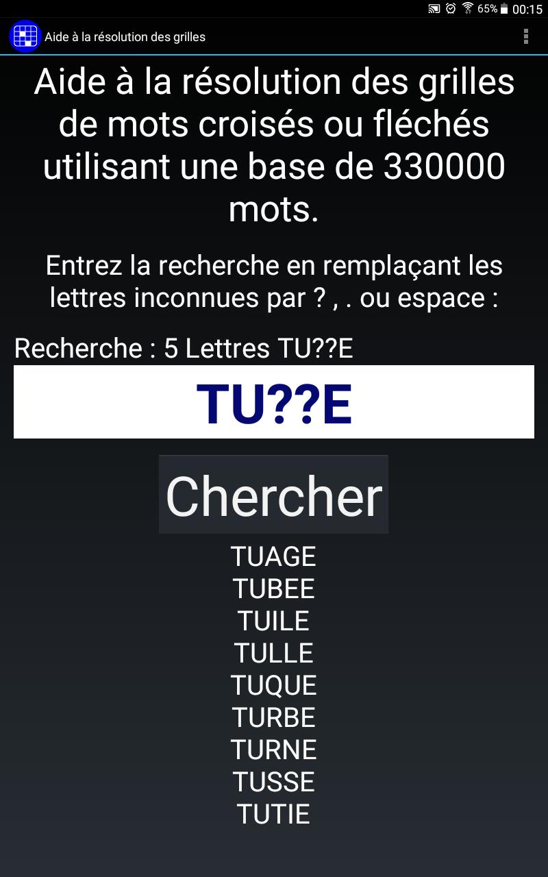 Mots Croisés Gratuits For Android - Apk Download concernant Mot Croisé Aide