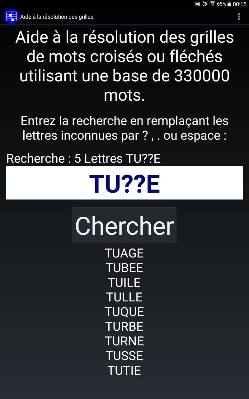 Mots Croisés Gratuits For Android - Apk Download dedans Aide Aux Mots Croisés Et Mots Fléchés