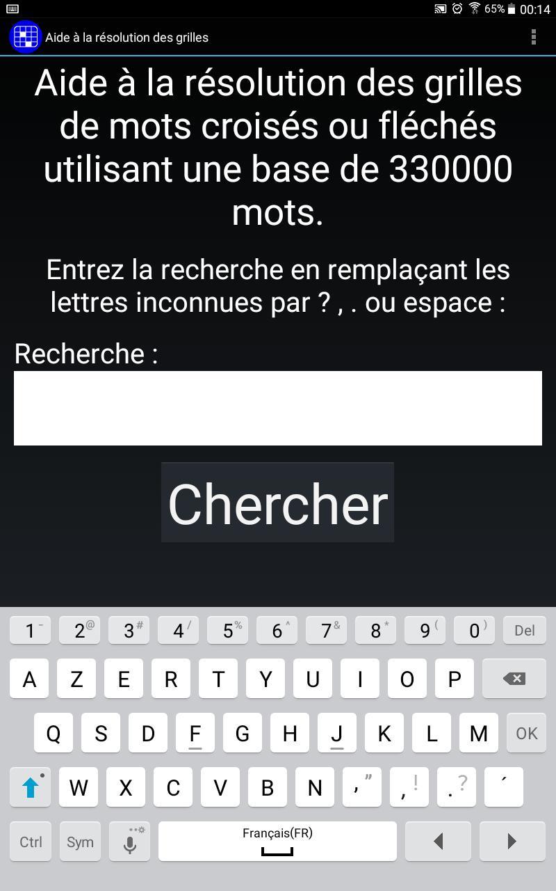 Mots Croisés Gratuits For Android - Apk Download pour Mot Croisé Aide