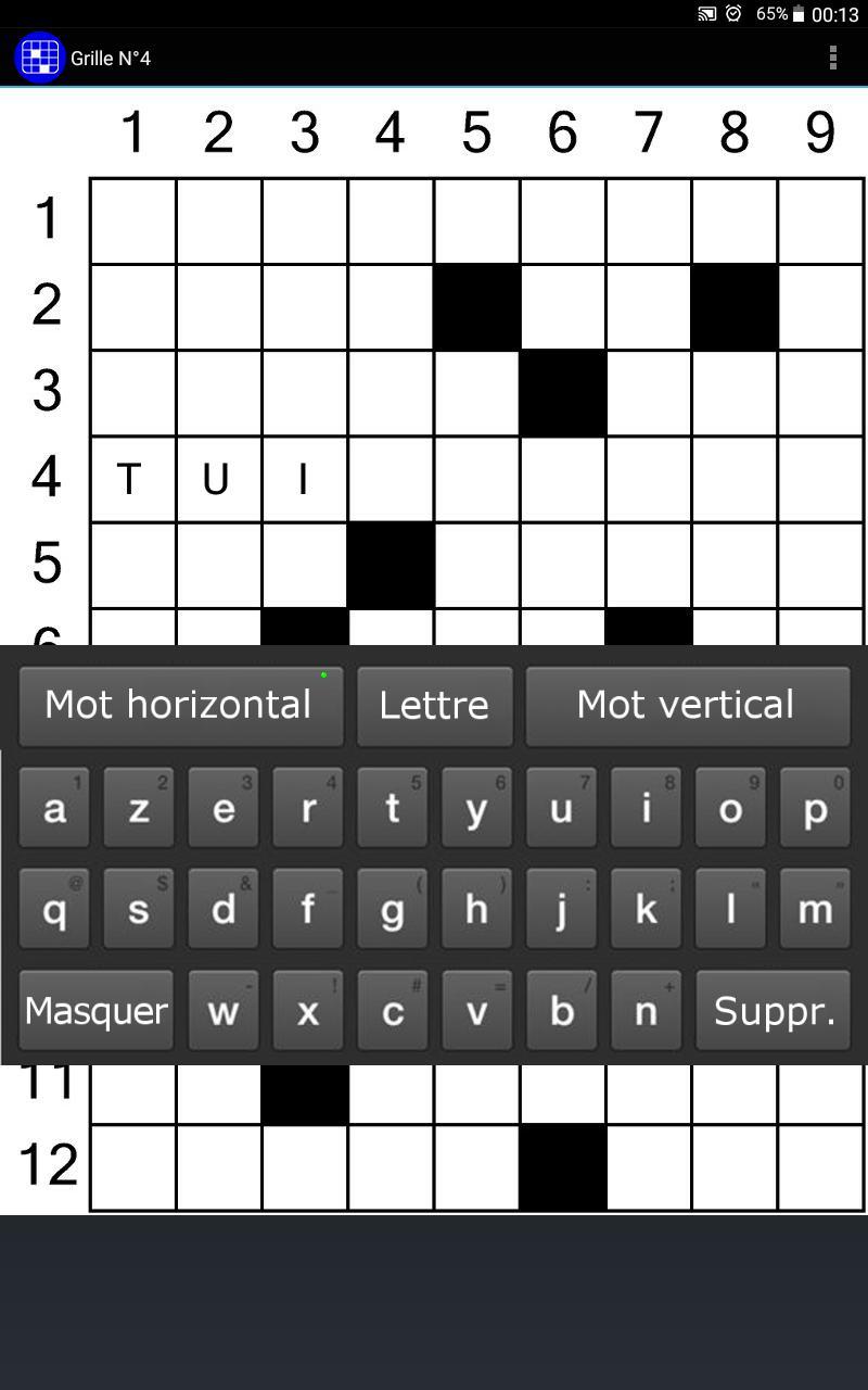 Mots Croisés Gratuits For Android - Apk Download pour Sudoku Gratuit En Ligne Facile