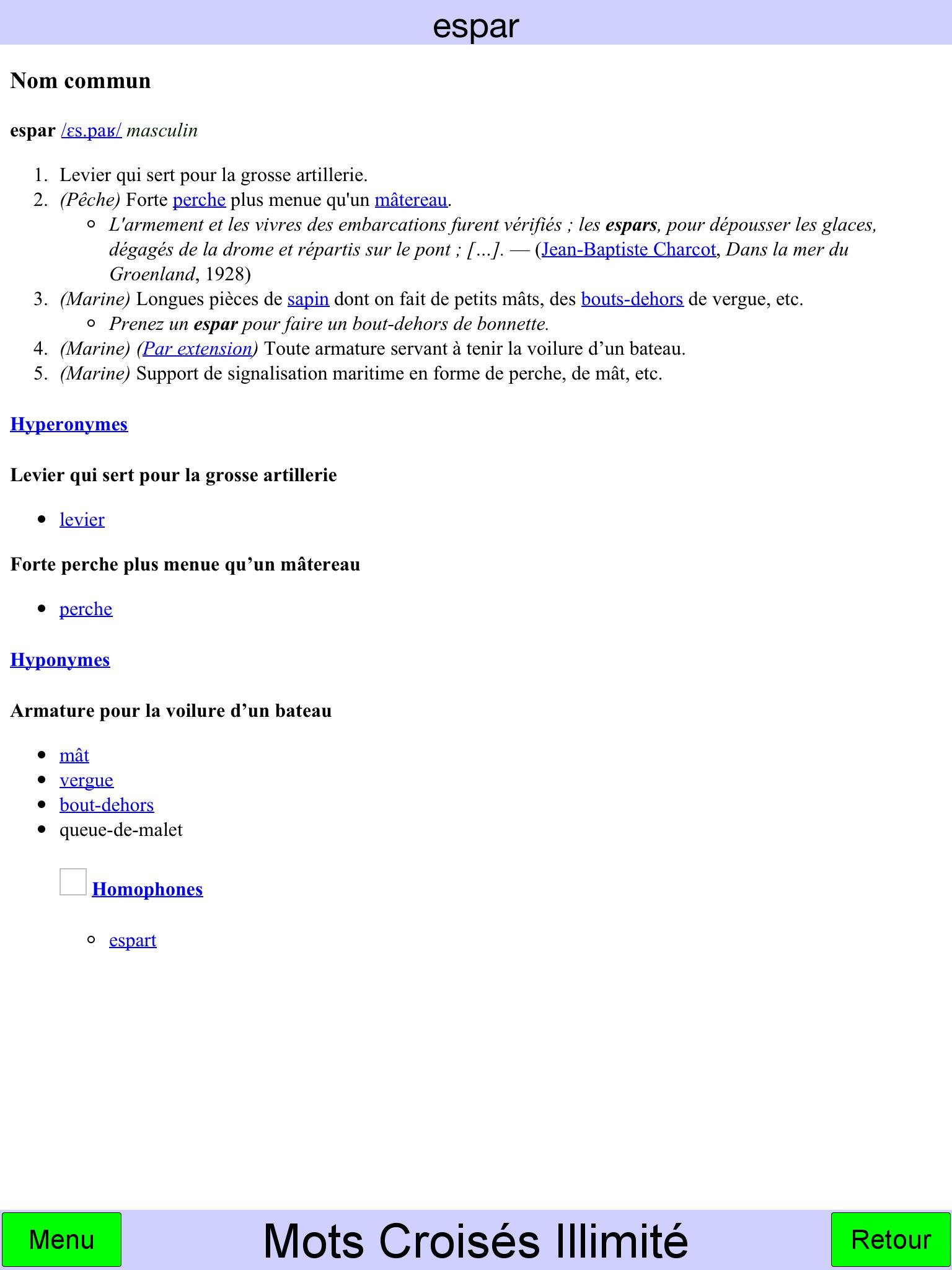 Mots Croisés Illimité - Jouer Mots Croisés En Ligne (Online) dedans Mots Croisés Très Difficiles