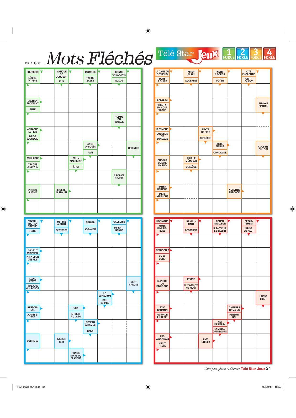 Mots Fléchés (C) Rci-Jeux | Jeux De Chiffres, Jeux De destiné Jeux De Mot Fléché