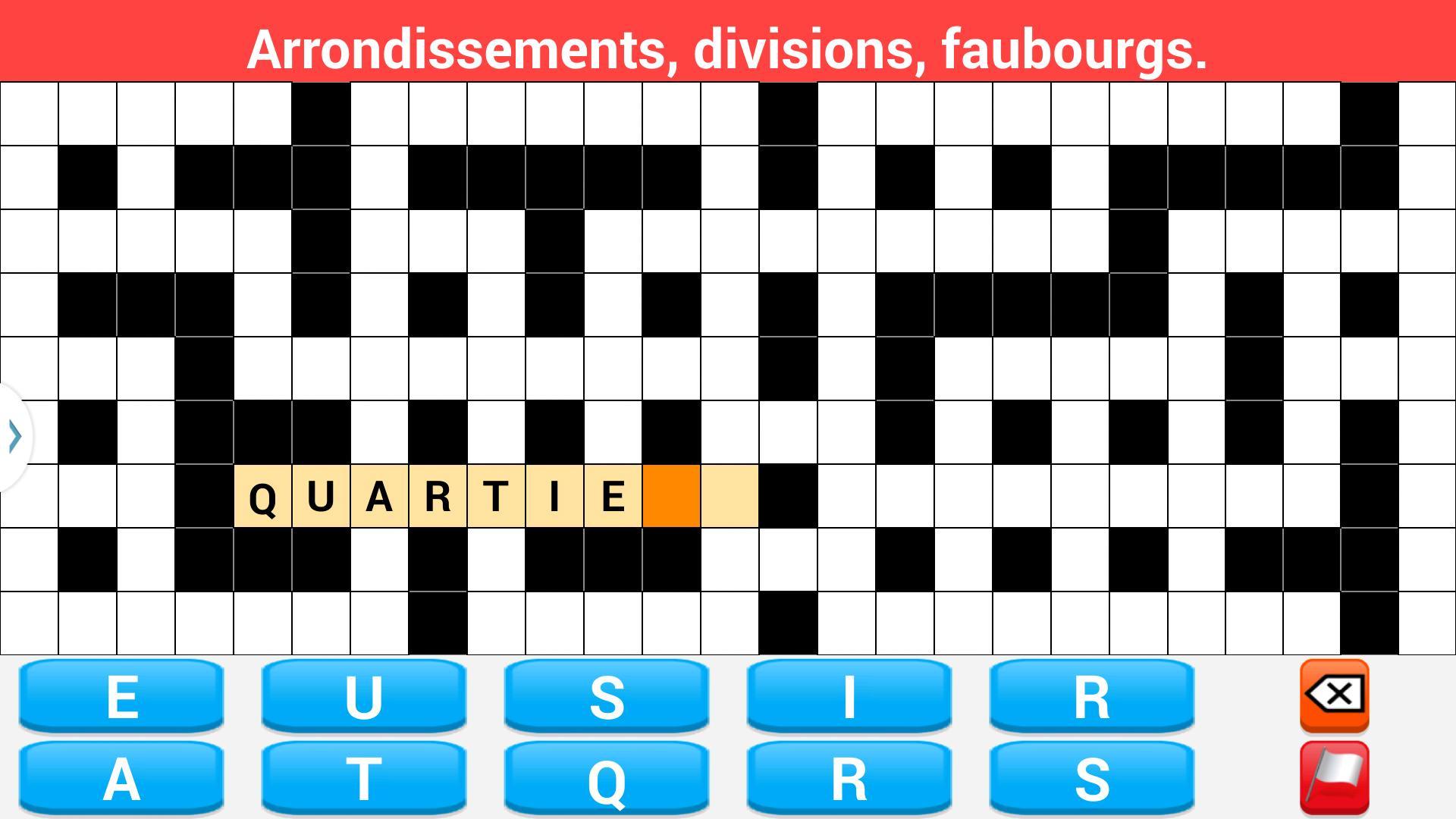 Mots Fléchés En Français For Android - Apk Download à Definition Mot Fleches Gratuit