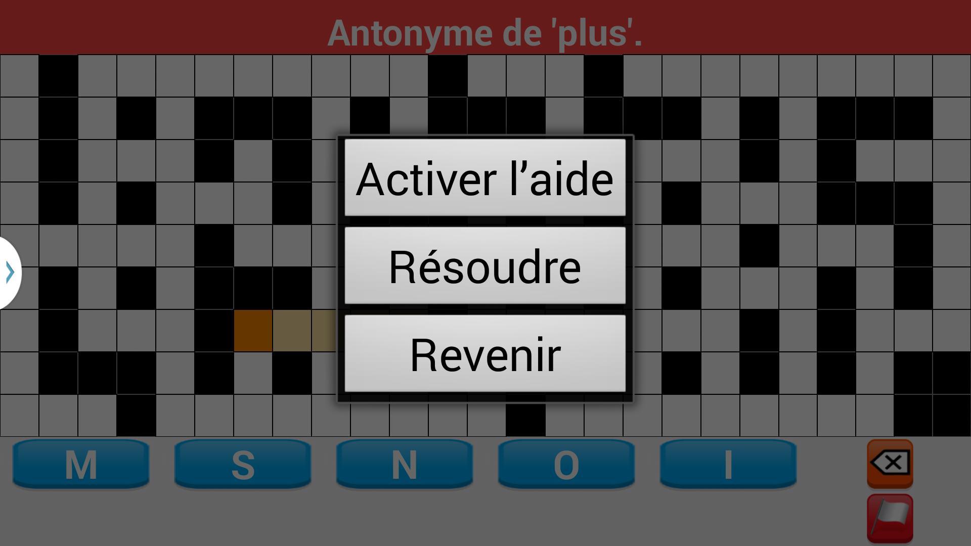 Mots Fléchés En Français For Android - Apk Download pour Definition Mot Fleches Gratuit