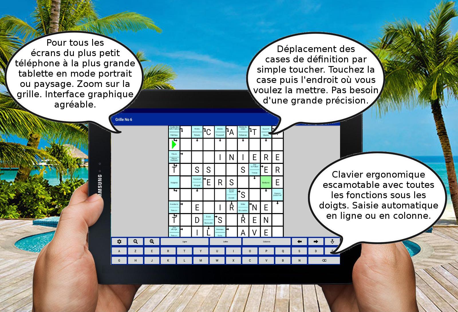 Mots Fléchés Mélangés For Android - Apk Download destiné Mot Fleché En Ligne