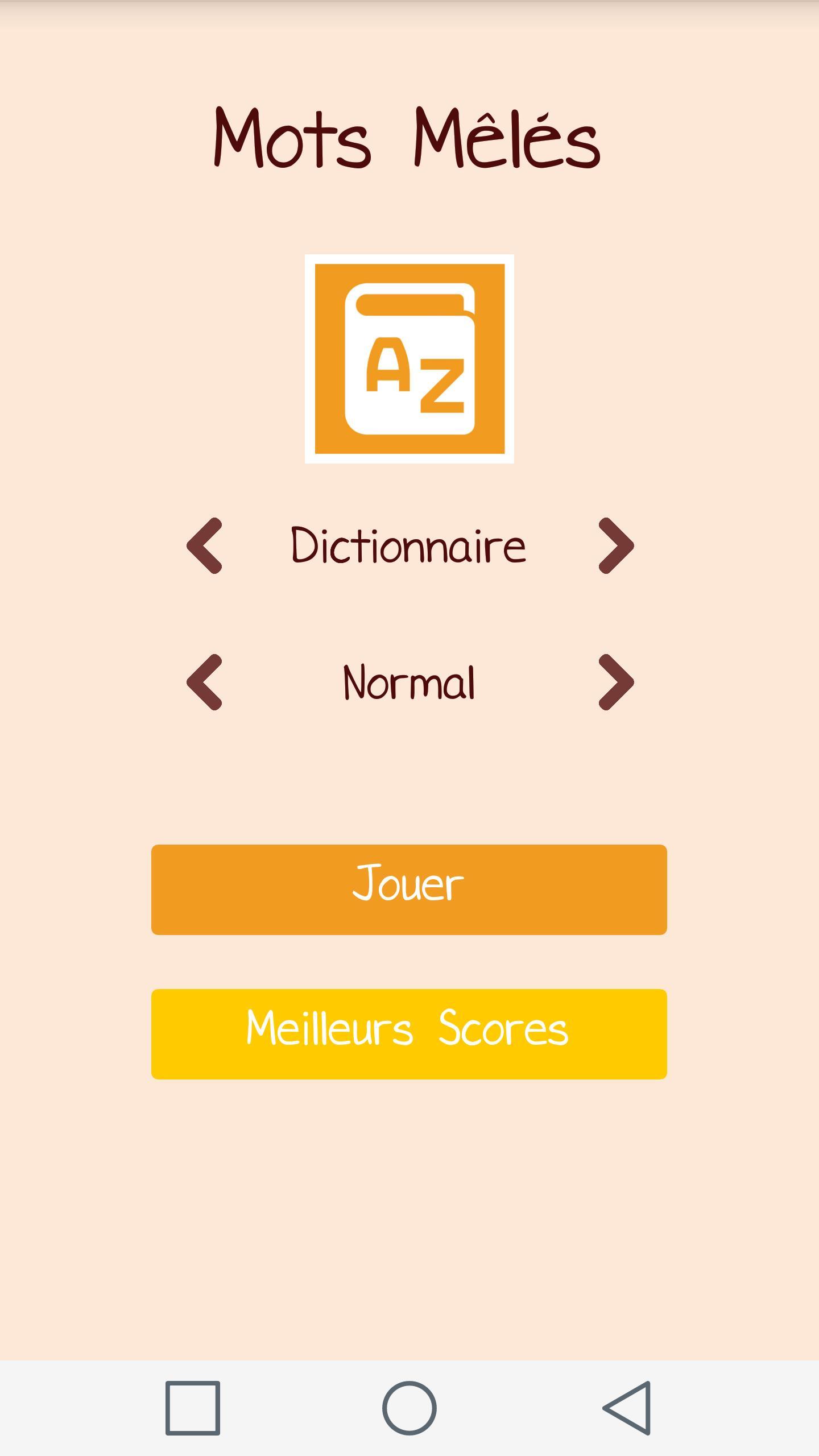 Mots Mêlés For Android - Apk Download tout Mot Mele Français Gratuit