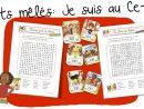 Mots Mêlés : Je Suis Au Ce1 | Bout De Gomme concernant Mots Meles Francais