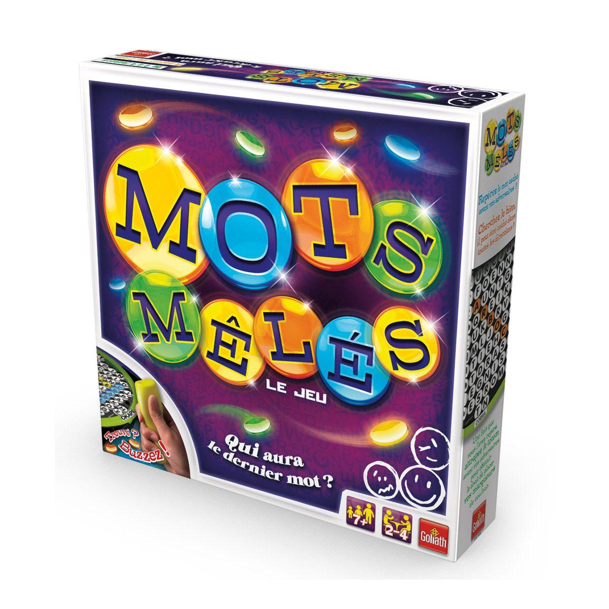 Mots Mélés - Jeux De Société Et Puzzles - La Grande Récré avec Jeux De Mots Mêlés