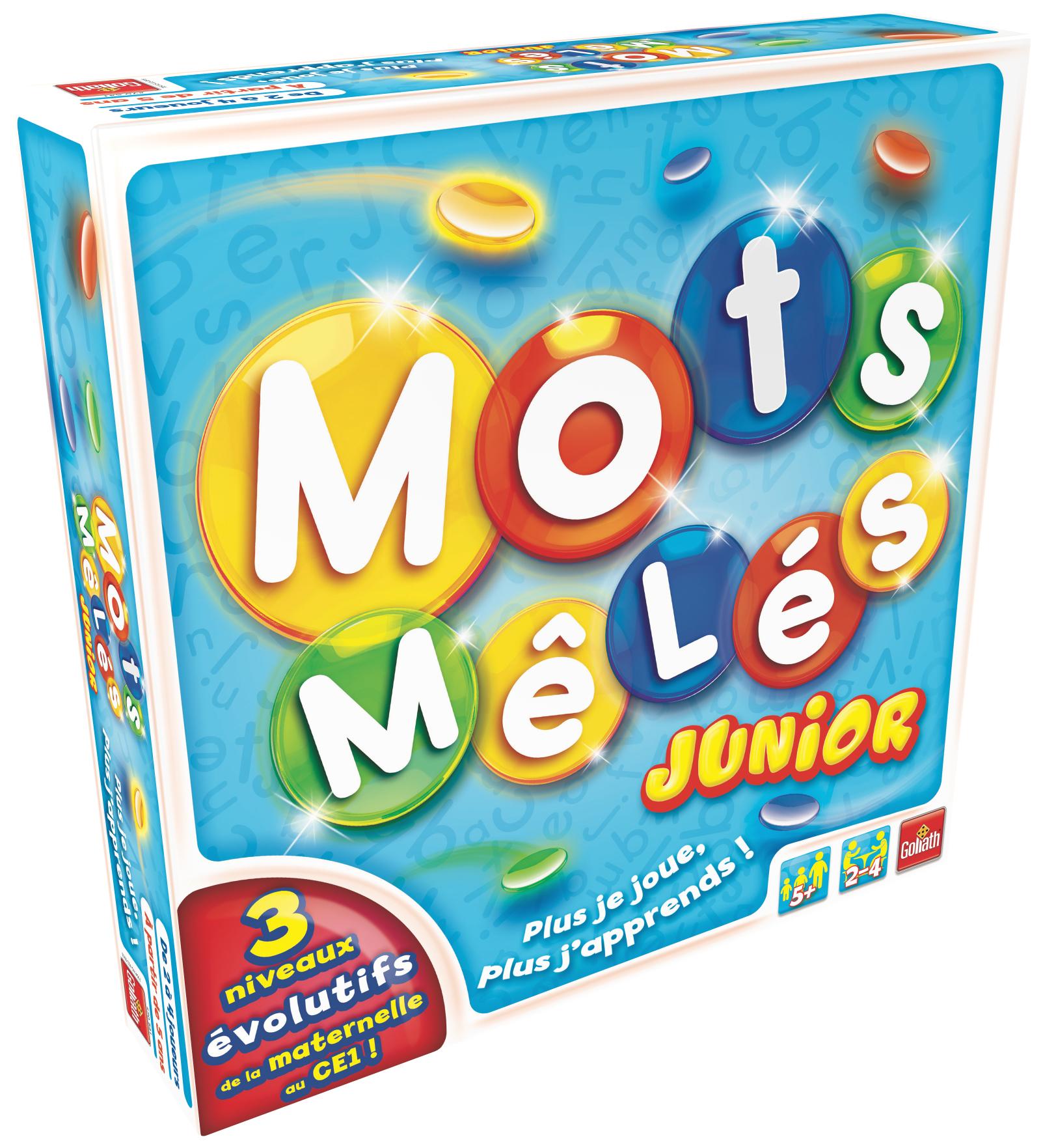 Mots Mêlés Junior - Goliath France :goliath France tout Jeux Mots Mélés