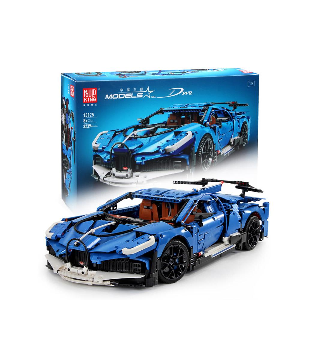 Moule Roi 13125 Bugatti Divo Super Voiture De Sport Blocs De concernant Jeux De Super Voiture