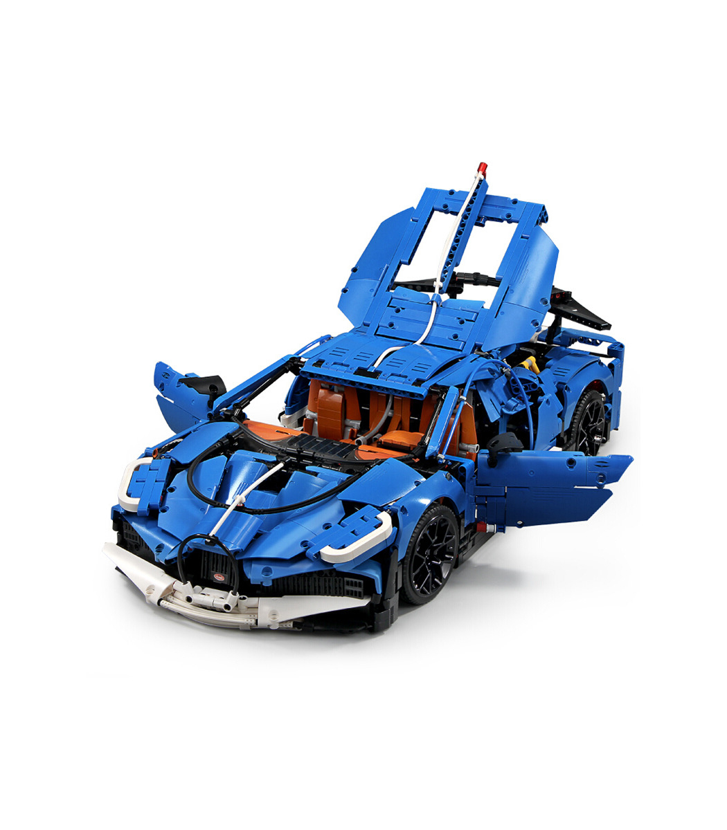 Moule Roi 13125 Bugatti Divo Super Voiture De Sport Blocs De intérieur Jeux De Super Voiture