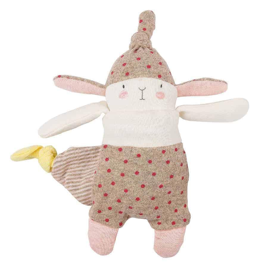 Moulin Roty Comforter Doudou Lulu Le Petit Lapin avec Lapin Lulu