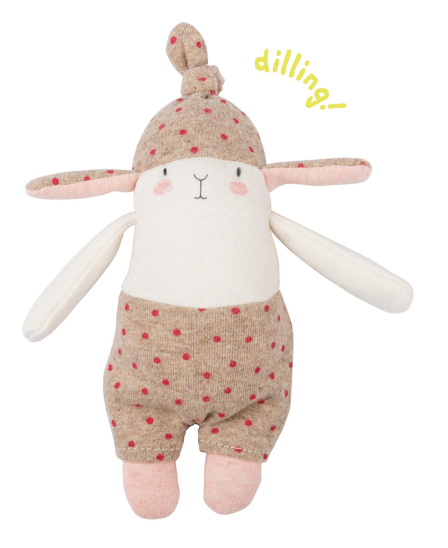Moulin Roty Rattle - Lulu The Rabbit à Lapin Lulu
