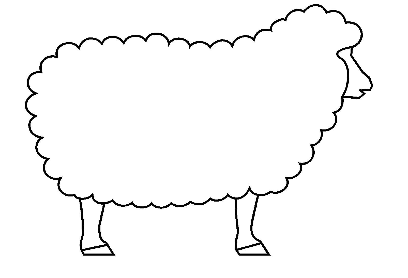 Mouton #118 (Animaux) – Coloriages À Imprimer avec Mouton À Colorier