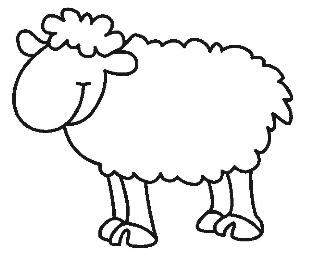 Mouton Pour Dessin concernant Mouton À Colorier