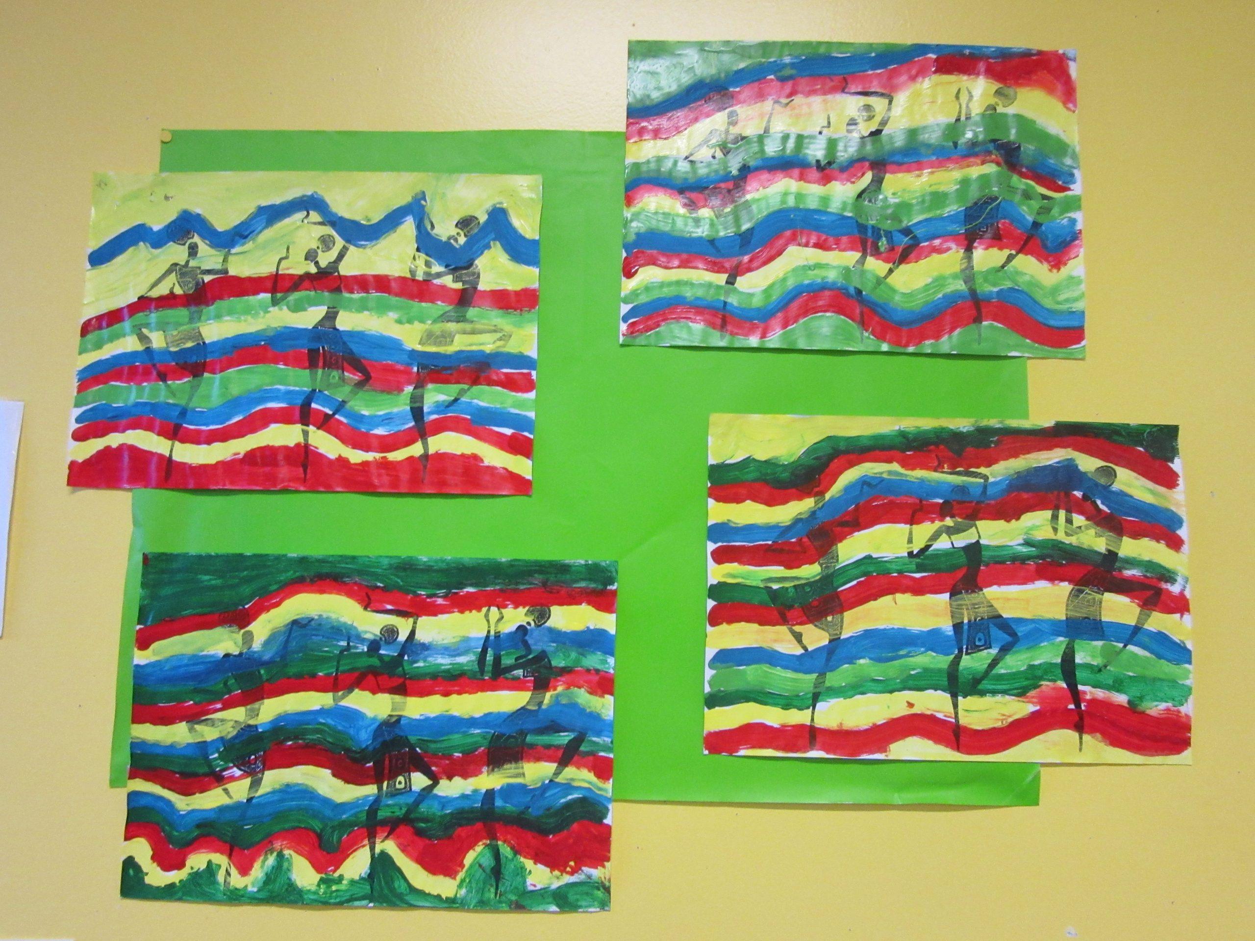 Ms - Séquence Lignes Ondulées - Classe De Sof En Maternelle tout Graphisme Les Vagues Moyenne Section