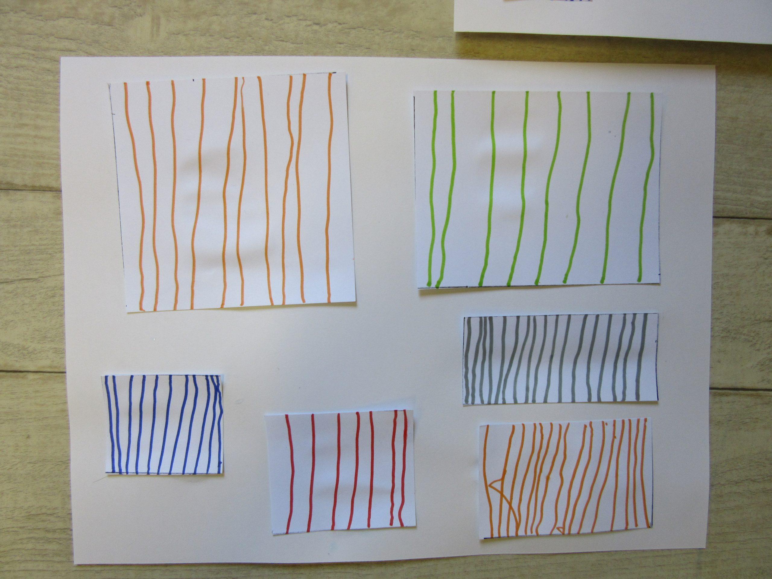 Ms - Séquence Traits Verticaux - Classe De Sof En Maternelle à Graphisme Traits Verticaux