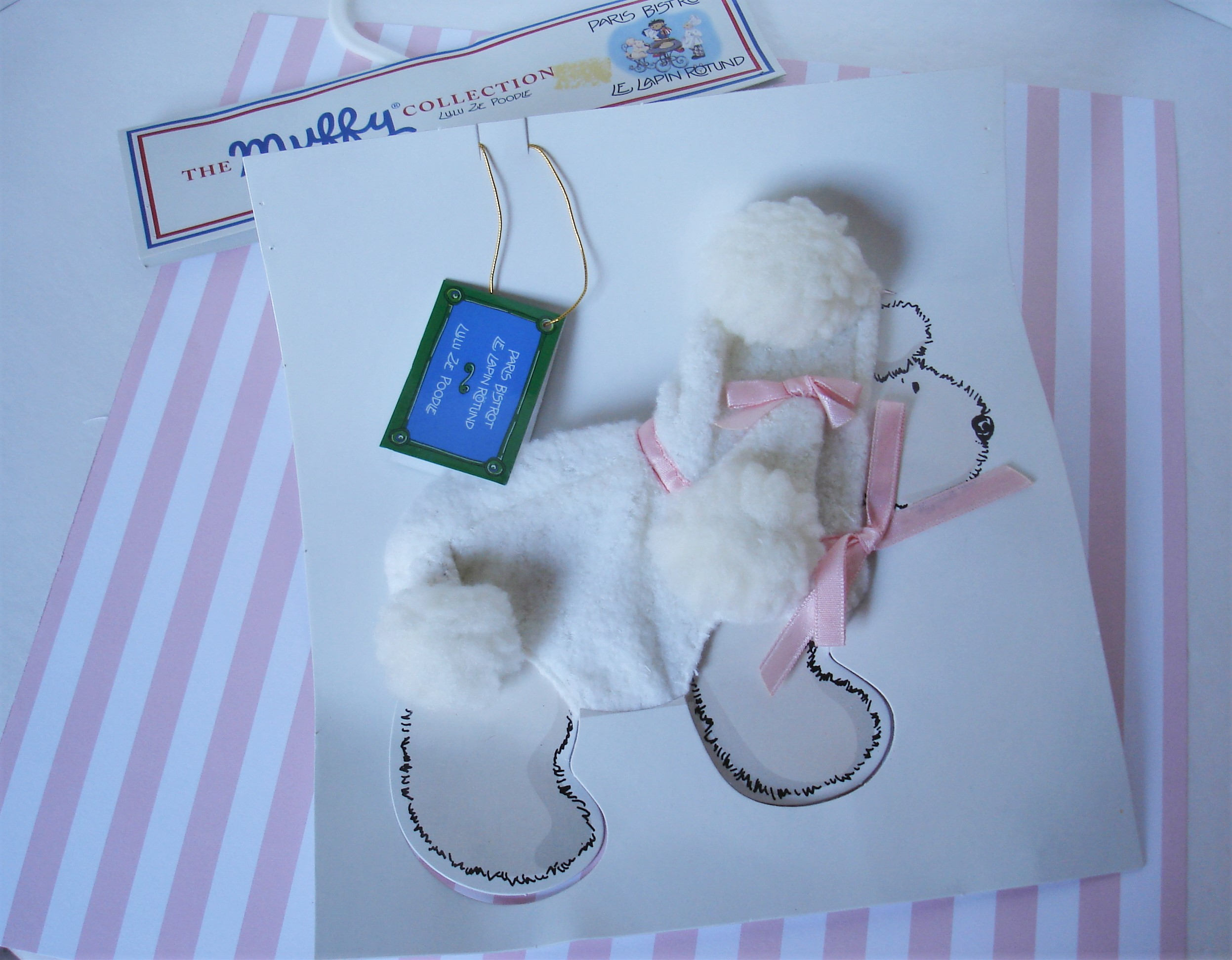 Muffy Vanderbear Lulu, Lulu Ze Poodle, Paris Bistrot: Le Lapin Rotund tout Lapin Lulu