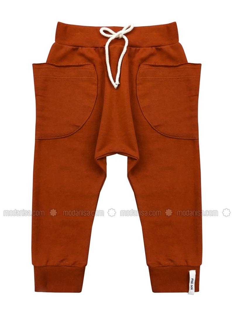 Multicolore - - Brique - Pantalons Pour Bébé à Brique Pour Bebe