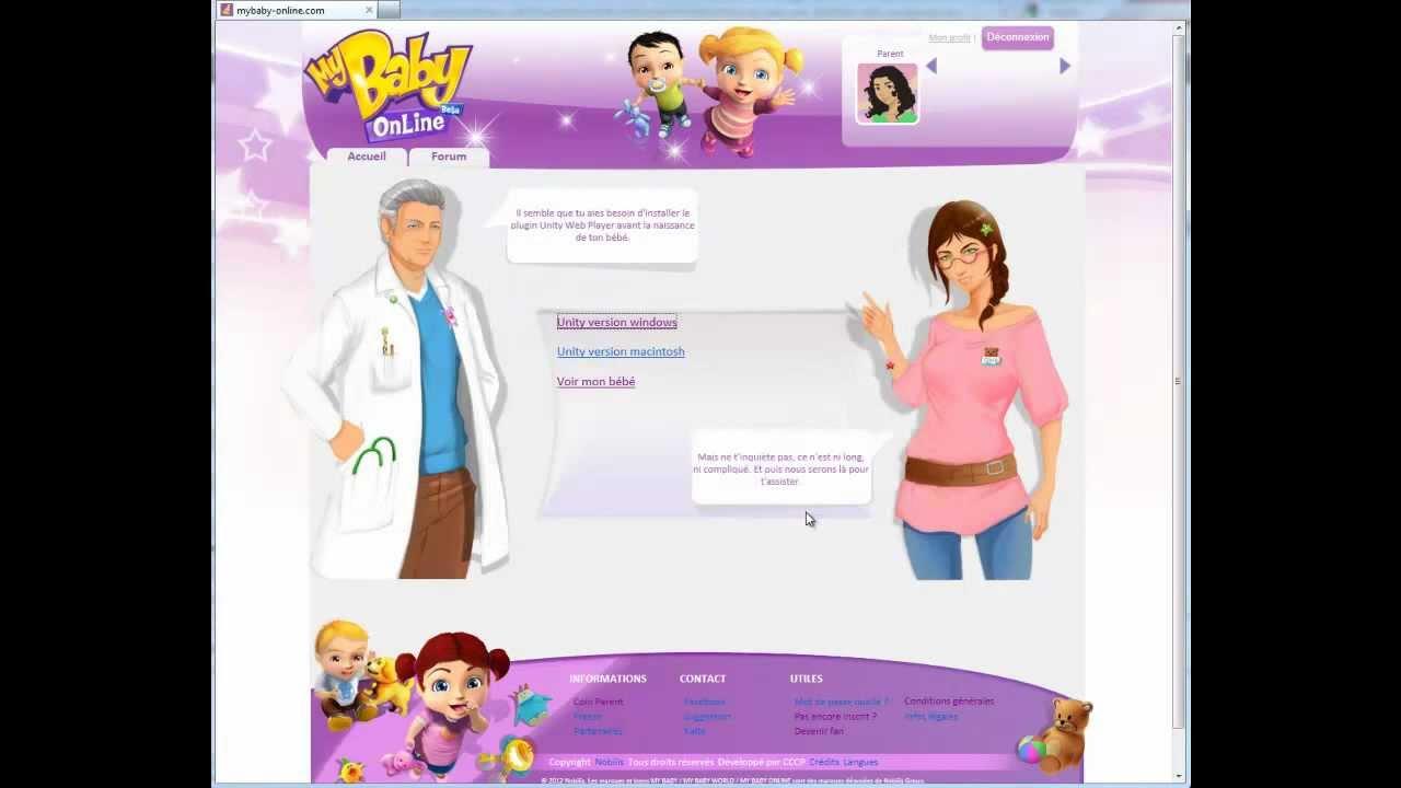 Mybabyonline - Comment Voir Mon Bébé En 3D ! - pour Jeux De Bébé Virtuel
