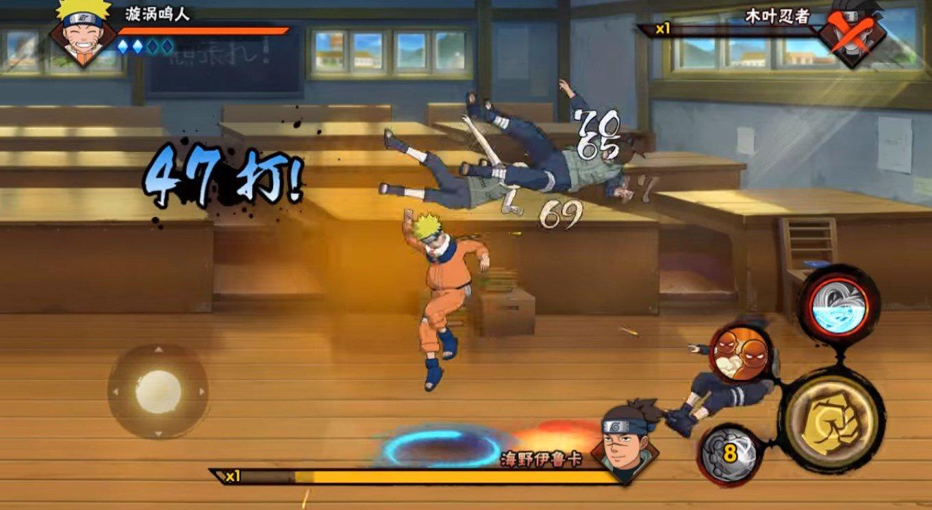 Naruto Mobile 1.36.28.6 - Télécharger Pour Android Apk concernant Jeux Gratuit Pour Portable