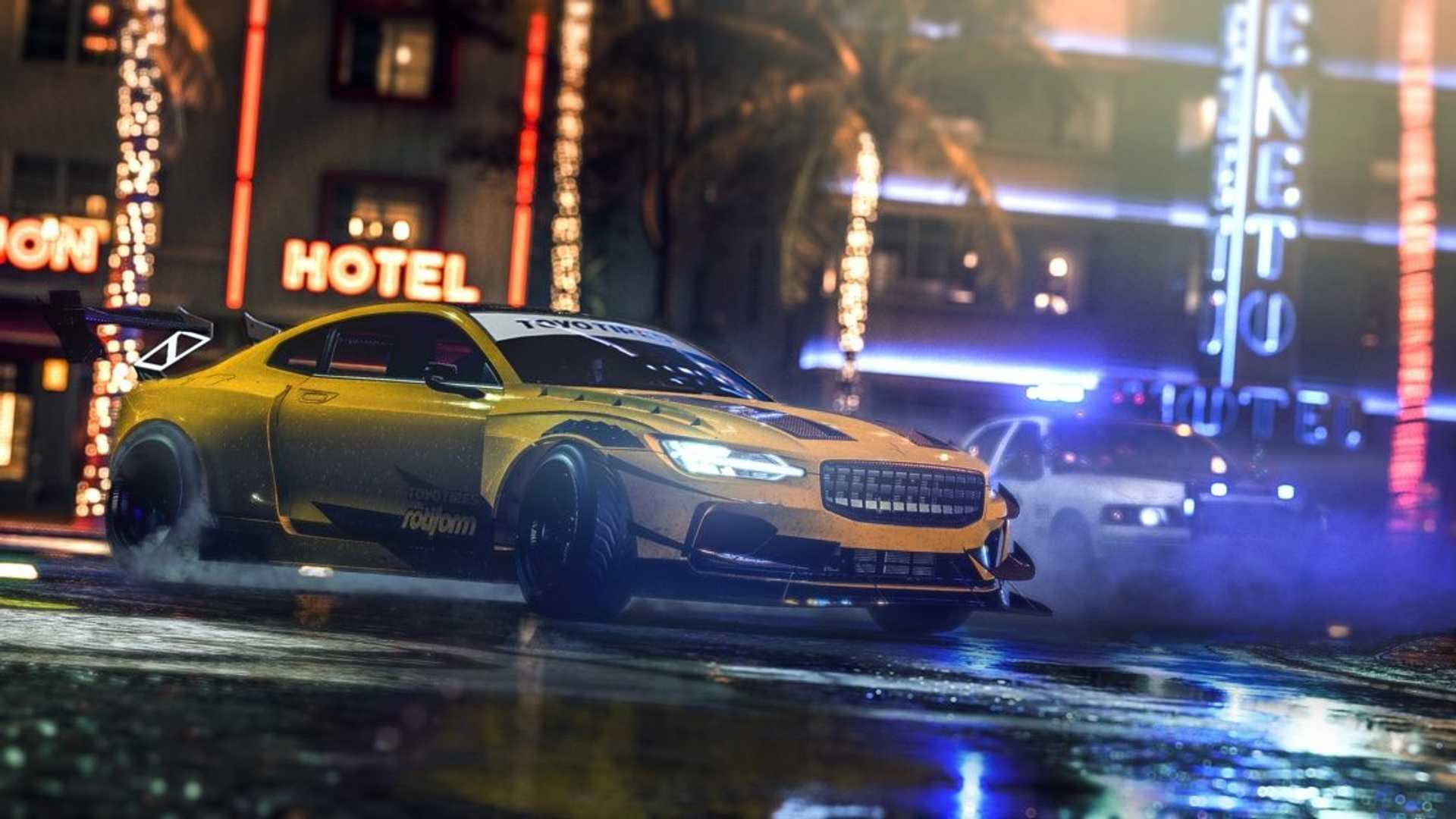 Need For Speed Heat - Gameplay Et Liste Des Voitures ! dedans Le Jeu De La Voiture Jaune