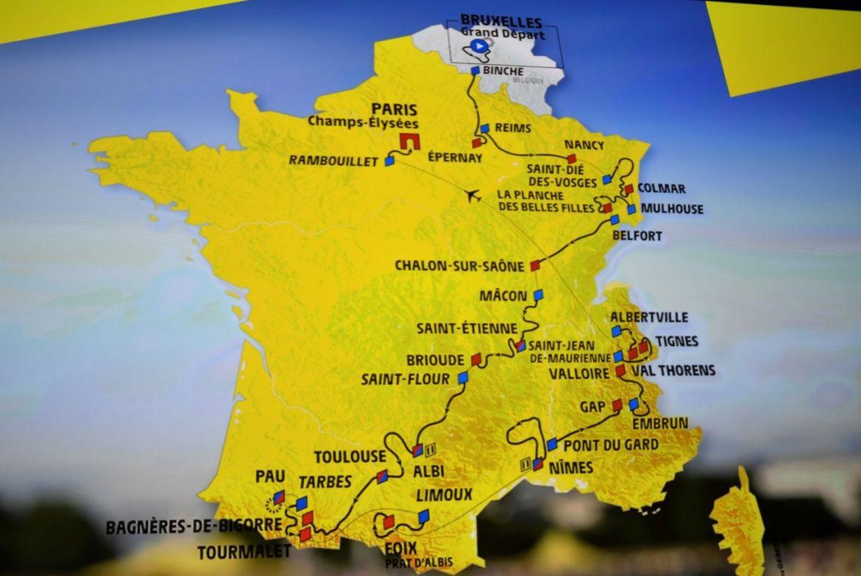 Nîmes Gearing Up For Tour De France Celebrations - Languedoc destiné Gap Sur La Carte De France