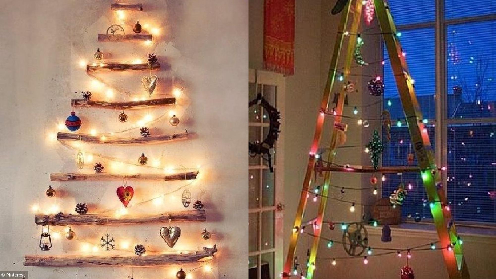 Noël : 10 Idées Écolos Pour Un Sapin… Sans Sapin à Fleche Pour Sapin De Noel