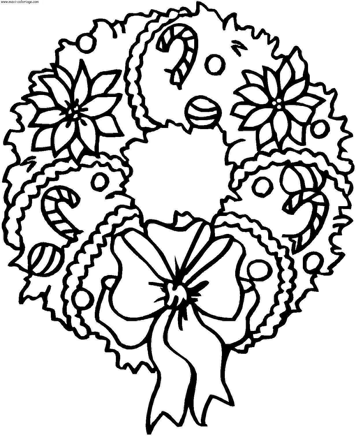 Noël #67 (Fêtes Et Occasions Spéciales) – Coloriages À Imprimer avec Dessin A Colorier De Noel Gratuit A Imprimer
