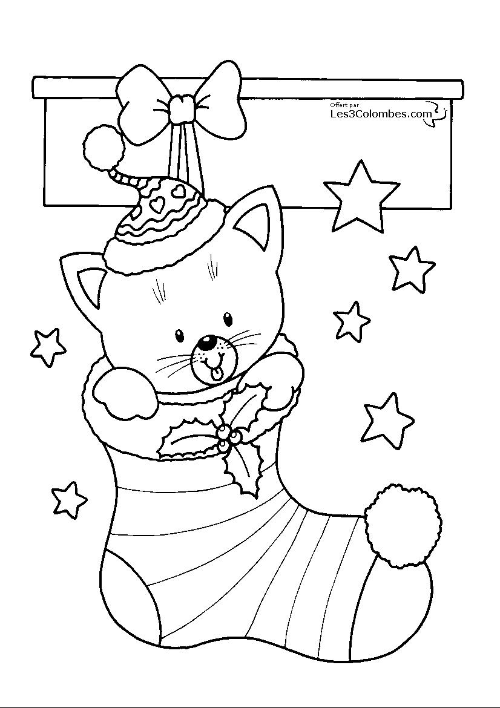 Noël #88 (Fêtes Et Occasions Spéciales) – Coloriages À Imprimer serapportantà Coloriage Gratuit À Imprimer Pour Fille