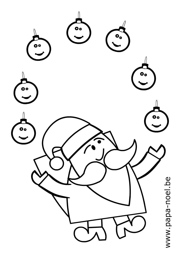 Noel Coloriage De Boule De Noel | Coloriage De Boules De concernant Dessin A Colorier De Noel Gratuit A Imprimer