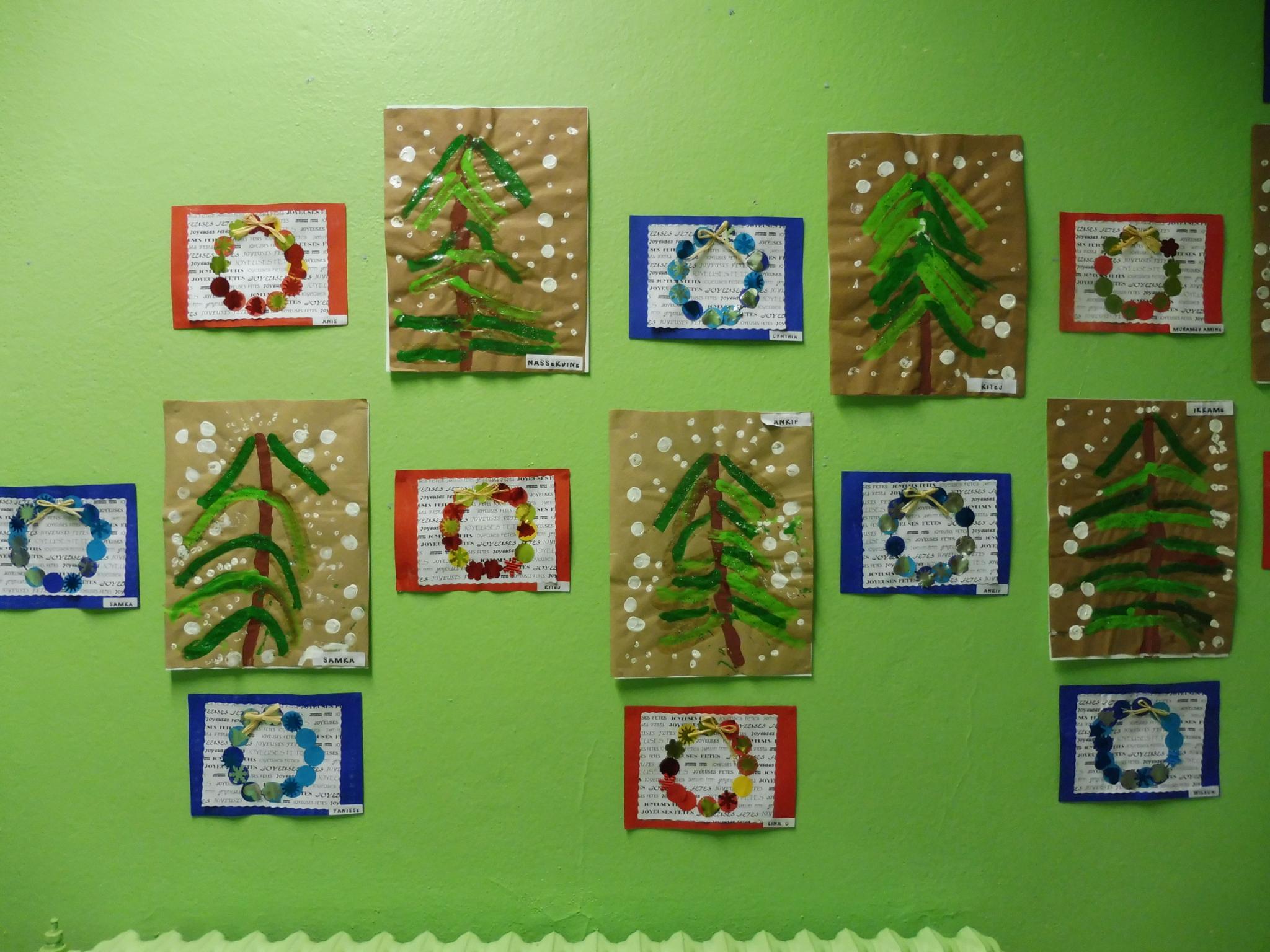 Noel - ☺Arts Visuels En Maternelle☺ à Noel Maternelle Grande Section