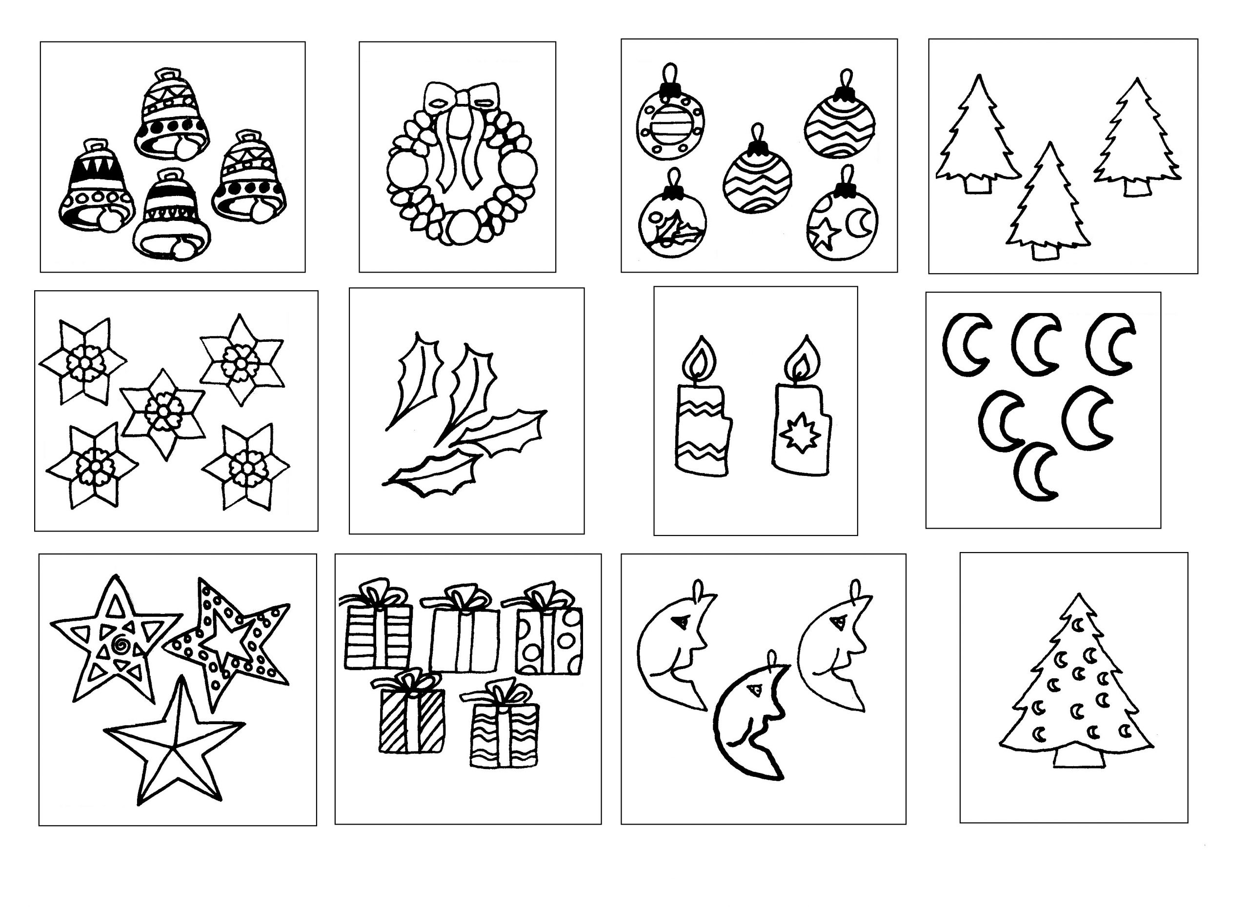 Noël, Numération À 6 - École Maternelle Gellow tout Noel Maternelle Grande Section