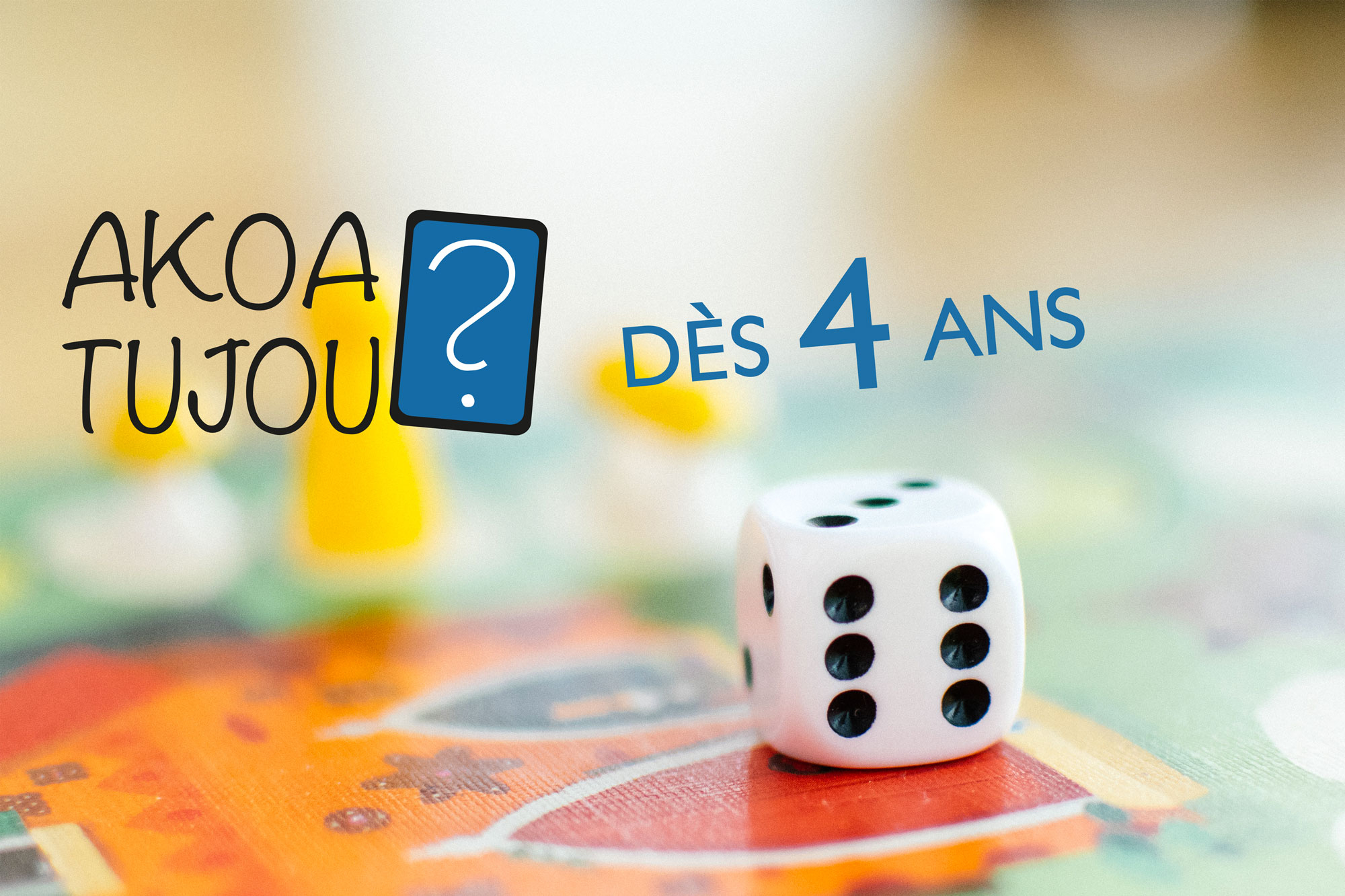 Nos Jeux De Société Dès 4 Ans - Jeux Pour Enfants - Akoa Tujou concernant Jeu De 4 Images