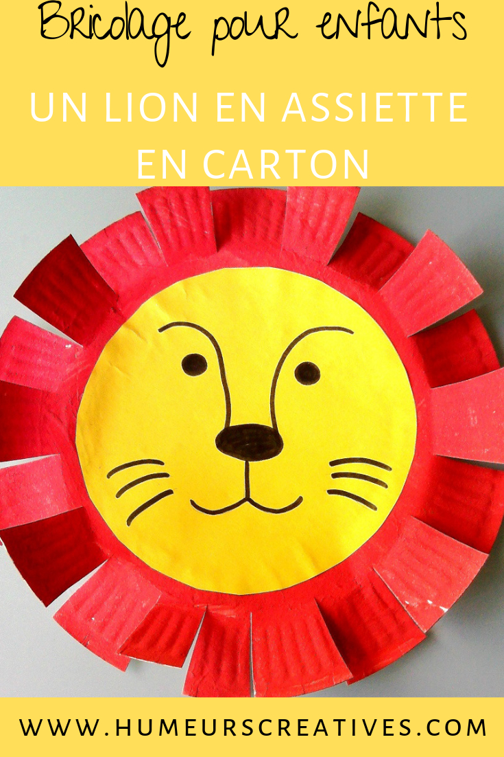 Nos Lions De Cirque - | Activité Manuelle Animaux, Activité concernant Activité Manuelle Pour Petit