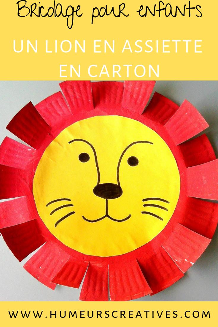 Nos Lions De Cirque - | Activité Manuelle Animaux, Activité pour Activité Manuelle Afrique