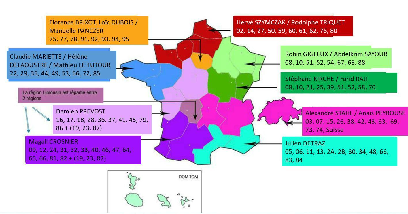 Nouveau Découpage Des Régions à Le Nouveau Découpage Des Régions