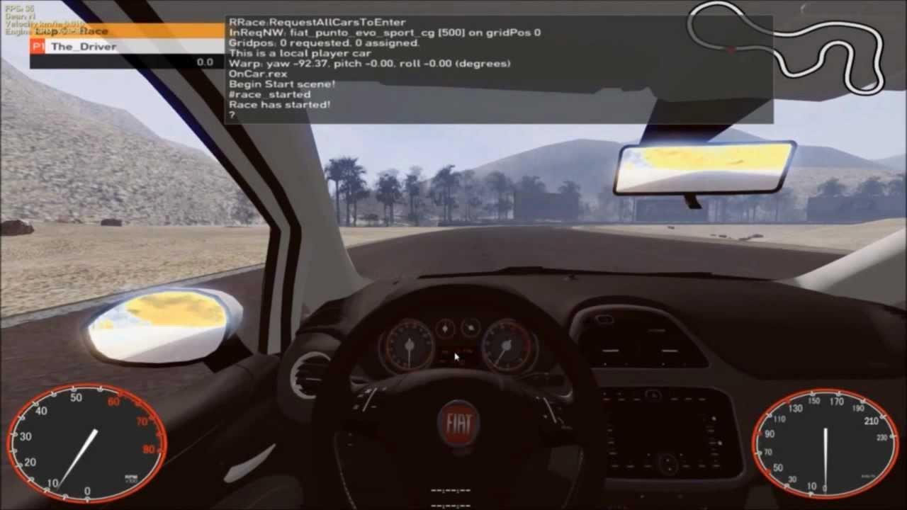 Nouveau : Fiat Punto Evo Sport - Racer - Simulateur De Conduite / Course (  Hd ) encequiconcerne Telecharger Jeux De Voiture Sur Pc