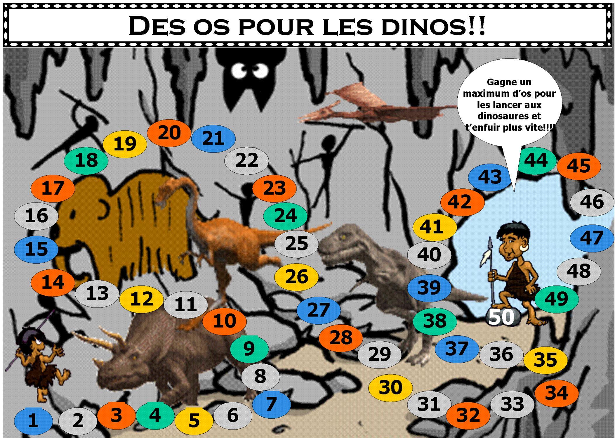 Nouveau Jeu De Maths Cp Et Ce1 « Des Os Pour Les Dinos tout Jeux De Ce1 Gratuit En Ligne