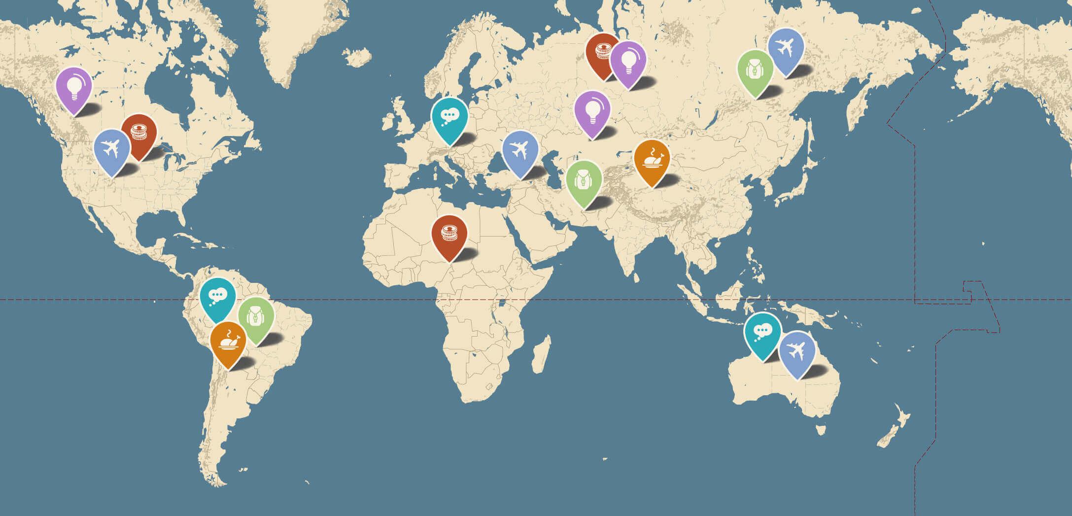 Novo-Map : Plugin Wordpress Pour Créer Des Google Maps à Carte Du Monde À Compléter En Ligne